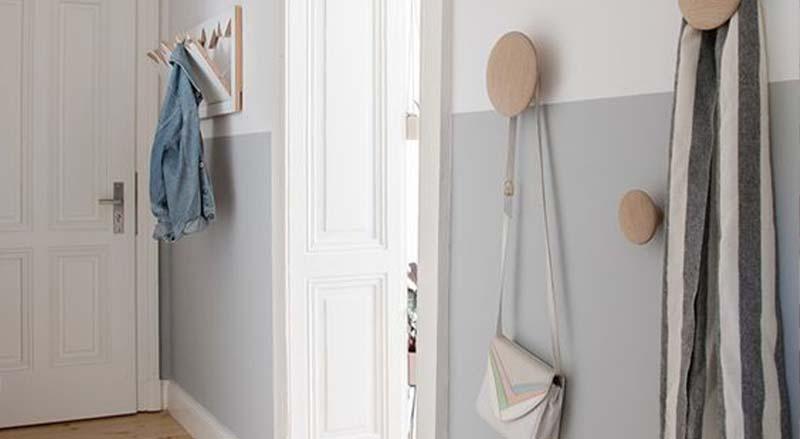 Paredes a medio pintar para decorar el hogar